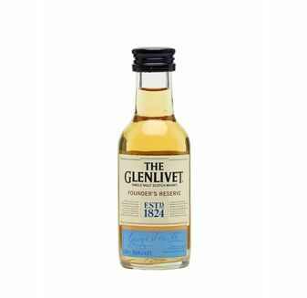 Glenlivet Founders Reserve Whisky Miniature (5cl)