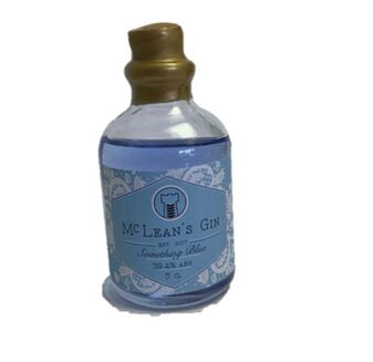 McLean\'s Something Blue Gin Miniature (5cl)