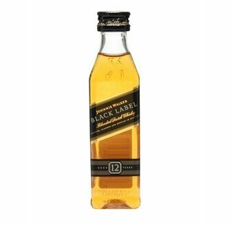 Johnnie Walker Black Label Whisky Miniature (5cl)