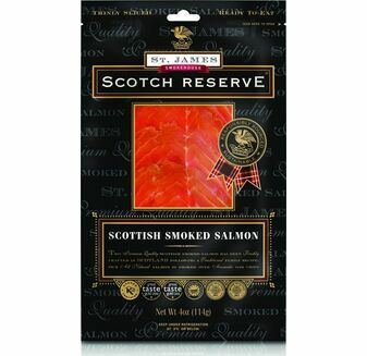 St James Smokehouse Scotch Reserve® Scottish Smoked Salmon (100g)