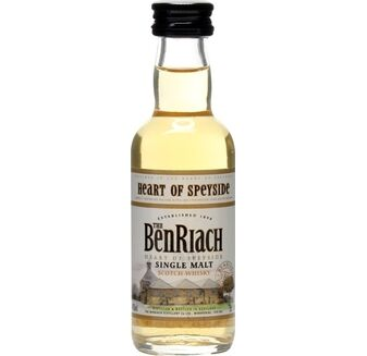 Benriach Heart of Speyside Whisky miniature 5cl