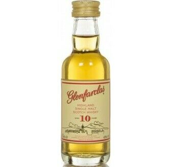 Glenfarclas 10 Year Old Whisky Miniature (5cl)