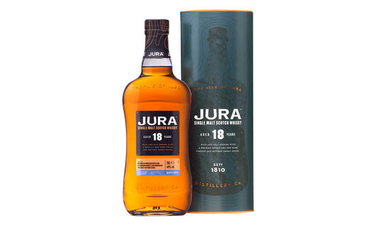 Isle of Jura 18 Year Old Single Malt Whisky 70cl