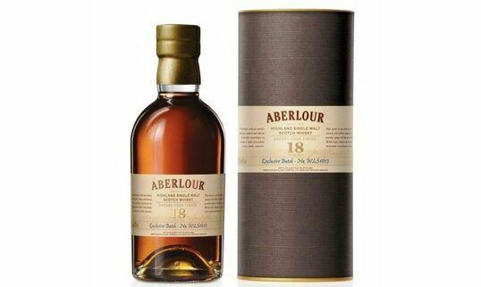 Aberlour 18 Year Old Highland Single Malt