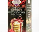 Duncan's of Deeside Raspberry & White Chocolate Shortbread (200g) additional 1