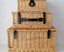 Natural Wicker Hamper additional 2