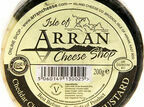 Island Cheese Company Waxed Truckle of Cheddar Cheese with Arran Mustard (200g) additional 1