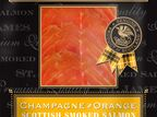 St James Smokehouse Scotch Reserve Champagne & Orange Smoked Salmon (100g) additional 1