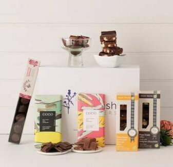 Luxury Chocoholic Hamper\