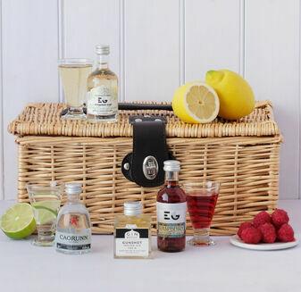 Gin Miniatures Gift Hamper