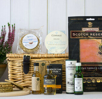 Whisky & Salmon (Bradan is Gruth) Hamper