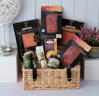 The Smokehouse & Whisky Miniatures Hamper