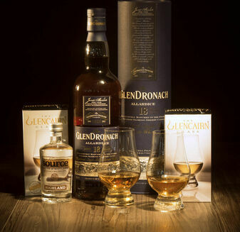 GlenDronach 18 Year Old Whisky Hamper\