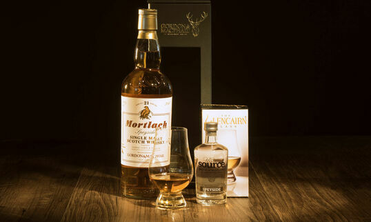 Mortlach 21 Year Old Speyside Whisky hamper