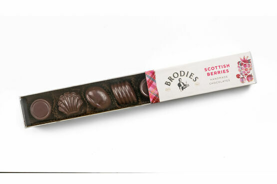 Brodies of Edinburgh Scottish Berries Chocolates 80g