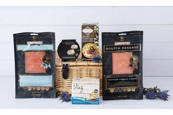 The Scottish Smoked Salmon Hamper