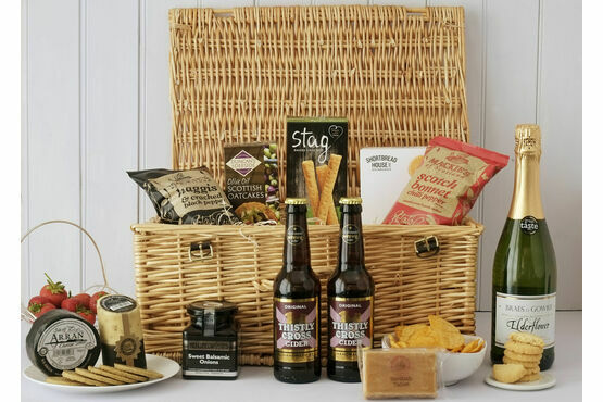 A Picnic Made in Scotland Hamper