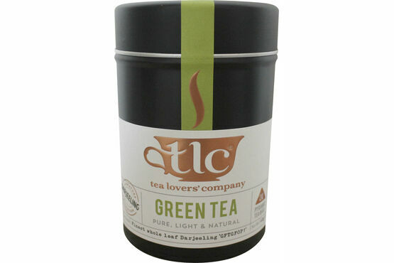 TLC Green Tea Caddy