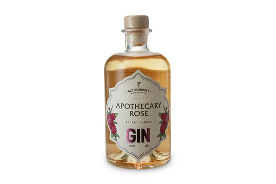 Old Curiosity Colour Changing Gin Apothecary Rose 50cl