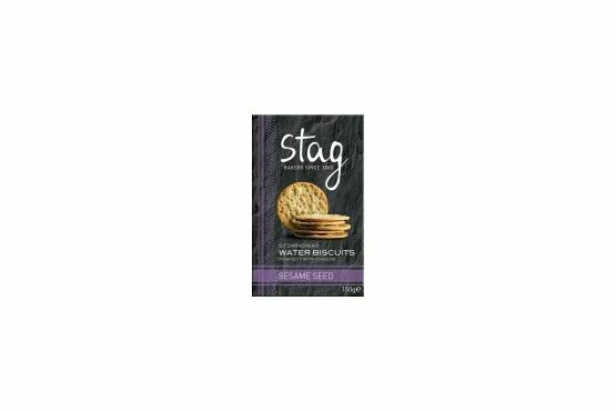Stag Stornoway Water Biscuits with Sesame Seed 150g