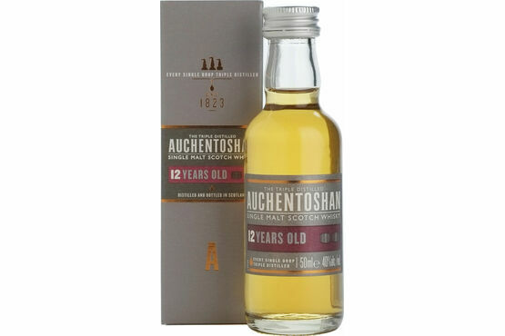 Auchentoshan 12 Year Old Whisky miniature 5cl