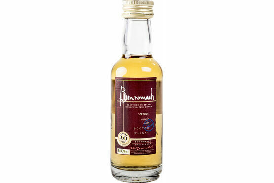 Benromach 10 Year Old Whisky miniature 5cl