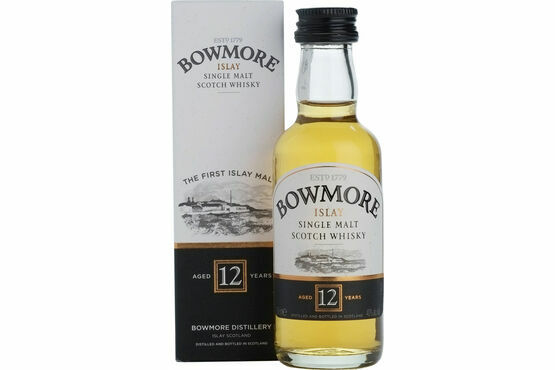 Bowmore 12 Year Old Whisky miniature 5cl
