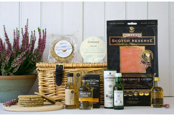 Whisky Salmon (Bradan is Gruth) Hamper