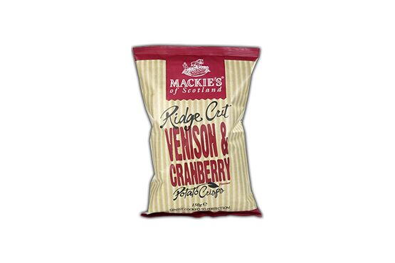 Mackie's of Scotland Venison and Cranberry Crisps