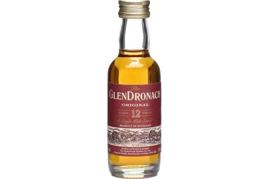 GlenDronach 12 Year Old Whisky Miniature 5cl