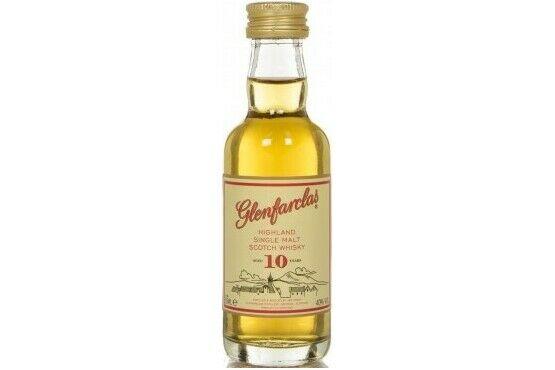 Glenfarclas 10 Year Old Whisky Miniature 5cl