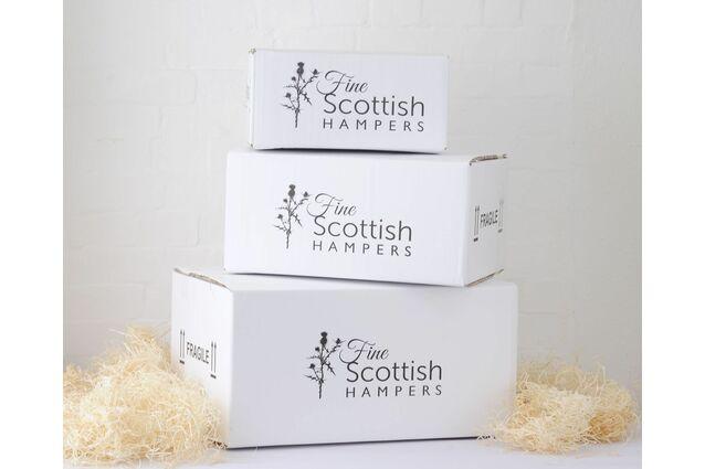 White Logo Carton