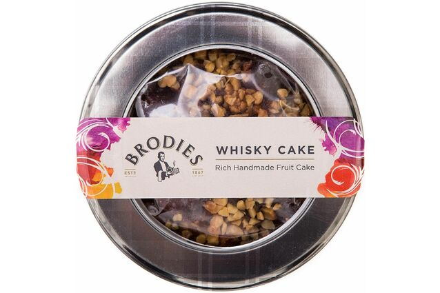 Brodies of Edinburgh Whisky Cake (315g)
