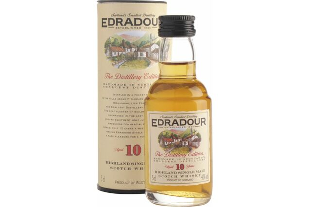 Edradour 10 Year Old Whisky Miniature (5cl)