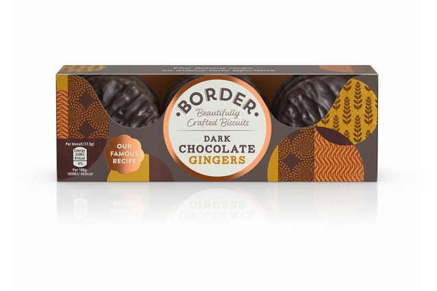 Border Biscuits Dark Chocolate Gingers (175g)