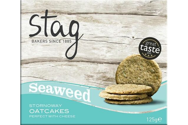 Stag Stornoway Seaweed Oatcakes (125g)