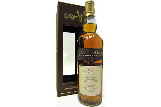 MacPhails 25 Year Old Malt Scotch Whisky 70cl