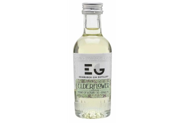 Edinburgh Gin Elderflower Liqueur Gin Miniature (5cl)