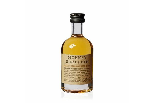 William Grant & Sons Monkey Shoulder Scotch Whisky Miniature (5cl)