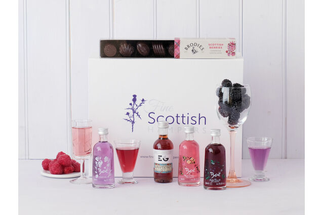 Gin Miniatures Red Gin Selection Hamper