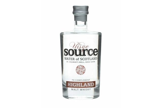 Uisge Source Water Of Scotland - St Colman's Well (Highland) (5cl)
