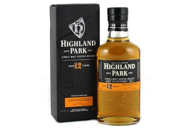 The Highland Park Distillery 12 Year Old Single Malt Whisky (35cl)