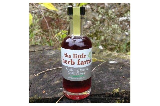 The Little Herb Garden Raspberry, Mint & Chilli Vinegar Dressing