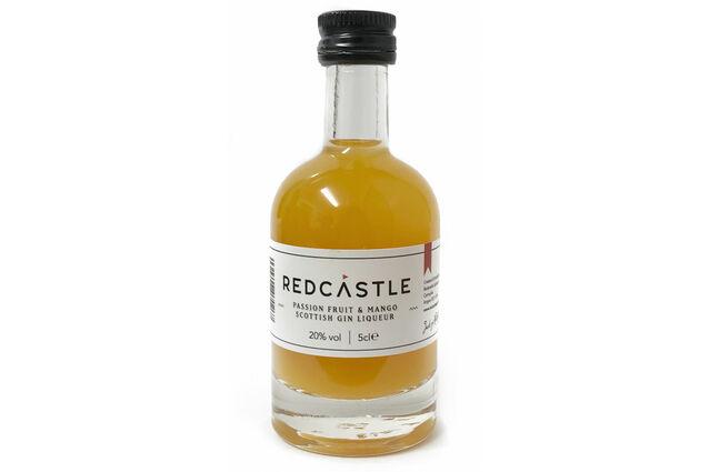 Redcastle Gin Passion Fruit & Mango Scottish Gin Liqueur Miniature (5cl)