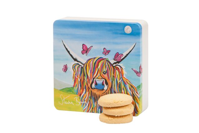 Dean's Chloe McCoo All Butter Shortbread Rounds Tin (160g)