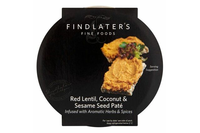 Findlater's Fine Foods Red Lentil, Coconut & Sesame Seed Pate (120g)