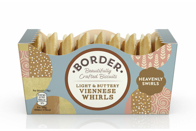 Border Biscuits Light & Buttery Viennese Whirls (150g)