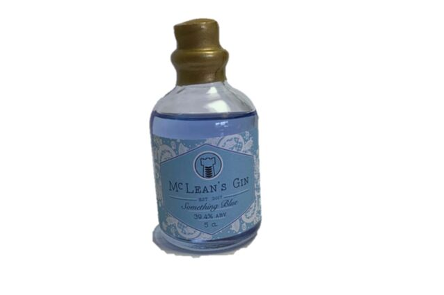 McLean's Something Blue Gin Miniature (5cl)