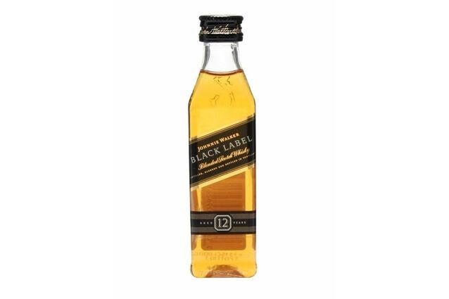 Johnnie Walker Black Label Whisky Miniature (5cl)