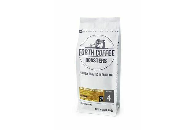 Forth Coffee Roasters Rail Bridge Espresso Blend Ground Coffee (250g)
